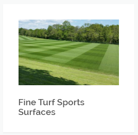 Sport turf maintenance